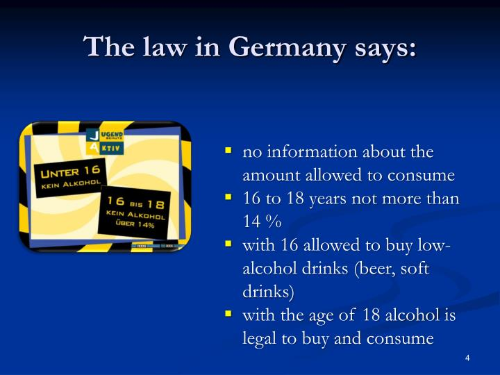 The law in Germany says: