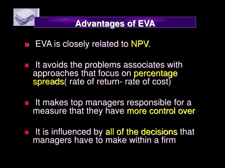 Advantages of EVA