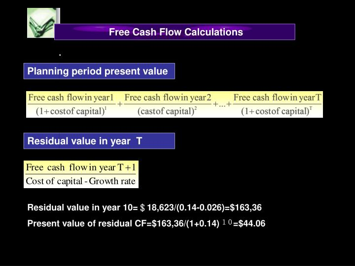Free Cash Flow Calculations