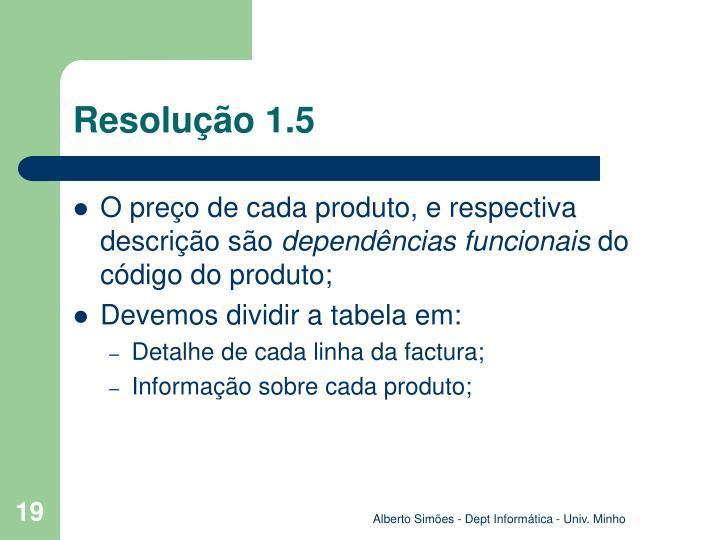 Resolução 1.5