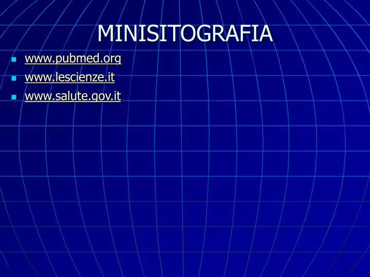 MINISITOGRAFIA