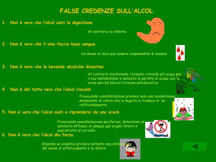 FALSE CREDENZE SULL