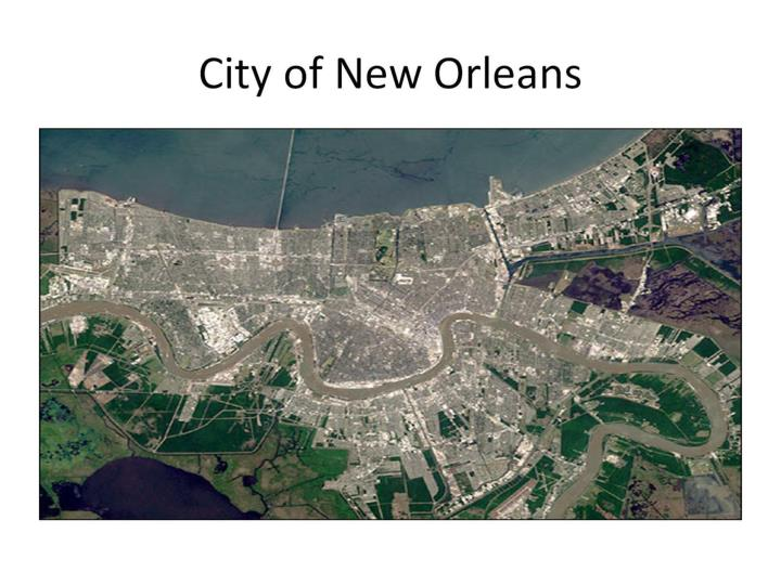 City of new orleans