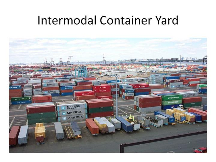 Intermodal Container Yard