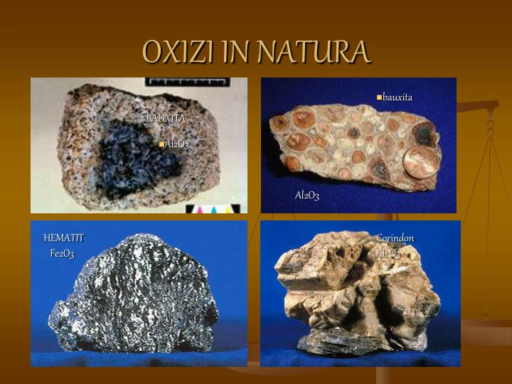 OXIZI IN NATURA