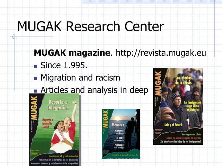 MUGAK Research Center