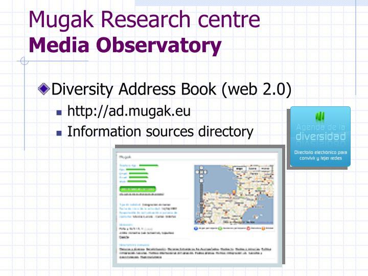 Mugak Research centre