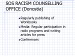 sos racism counselling office donostia1