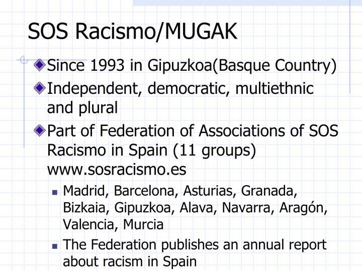 SOS Racismo/MUGAK