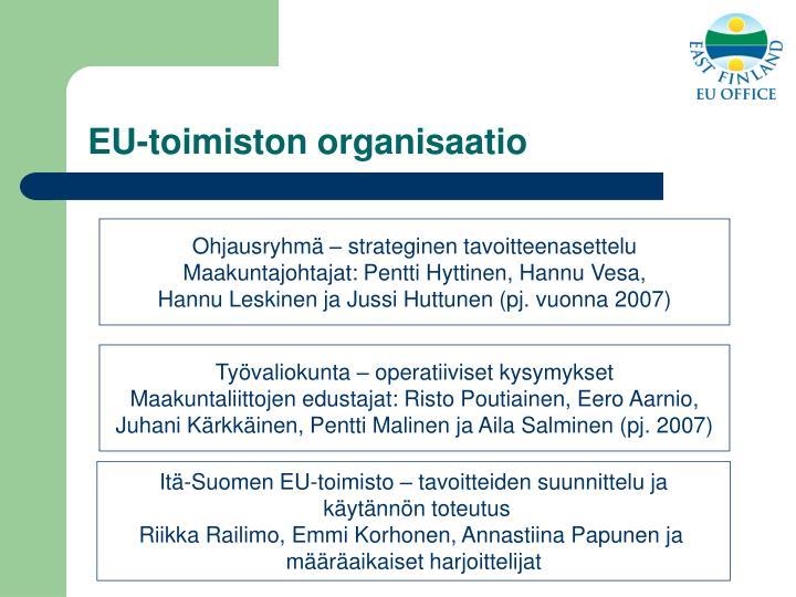EU-toimiston organisaatio