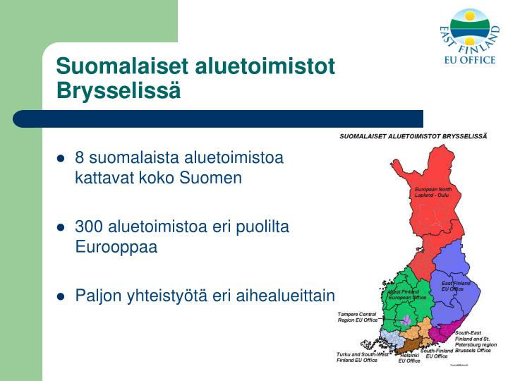 Suomalaiset aluetoimistot