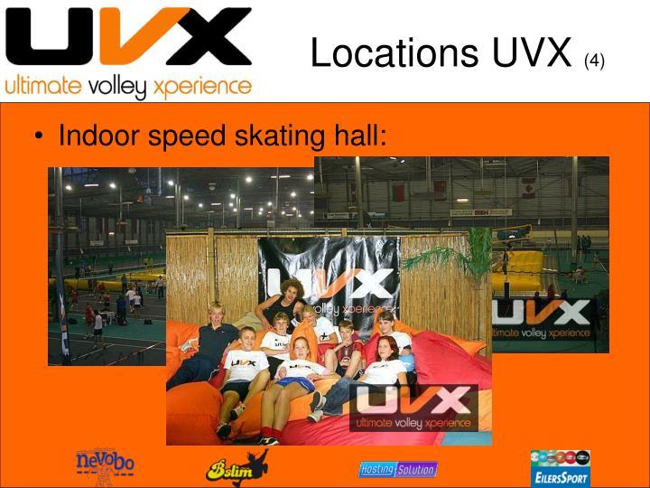 Locations UVX