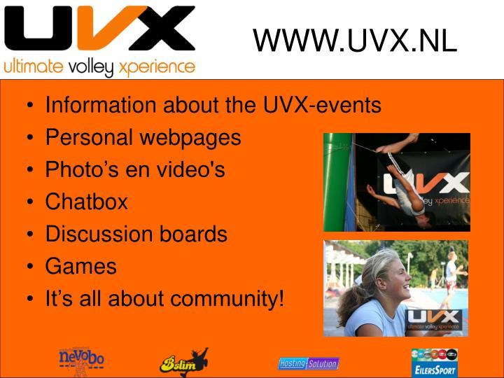 WWW.UVX.NL