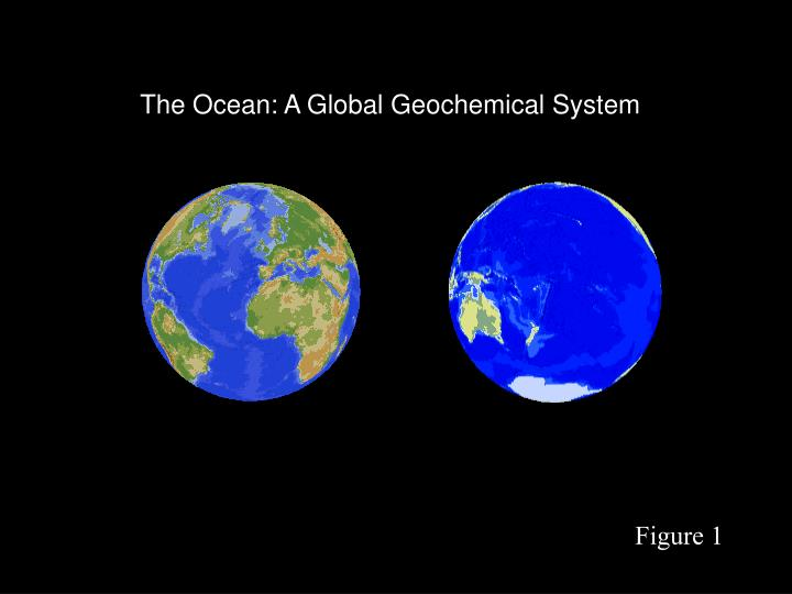 The Ocean: A Global Geochemical System