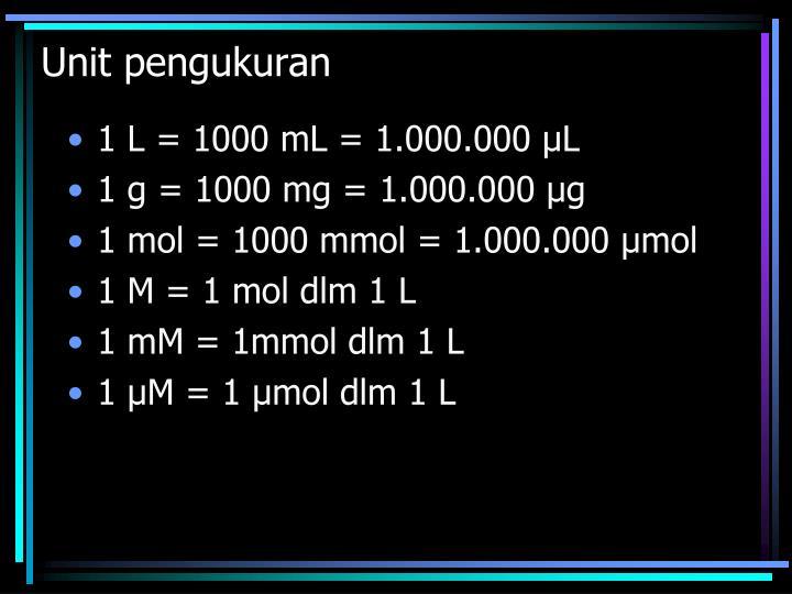 Unit pengukuran