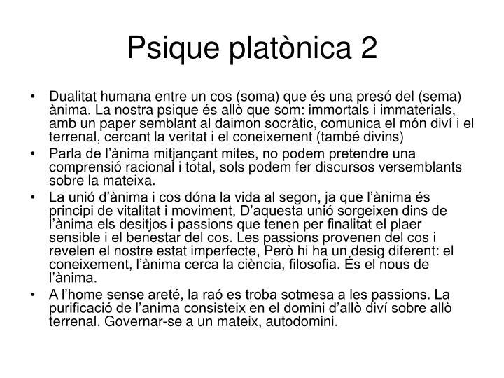 Psique platònica 2