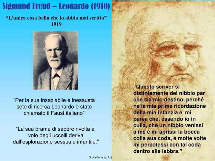 Sigmund Freud – Leonardo (1910)