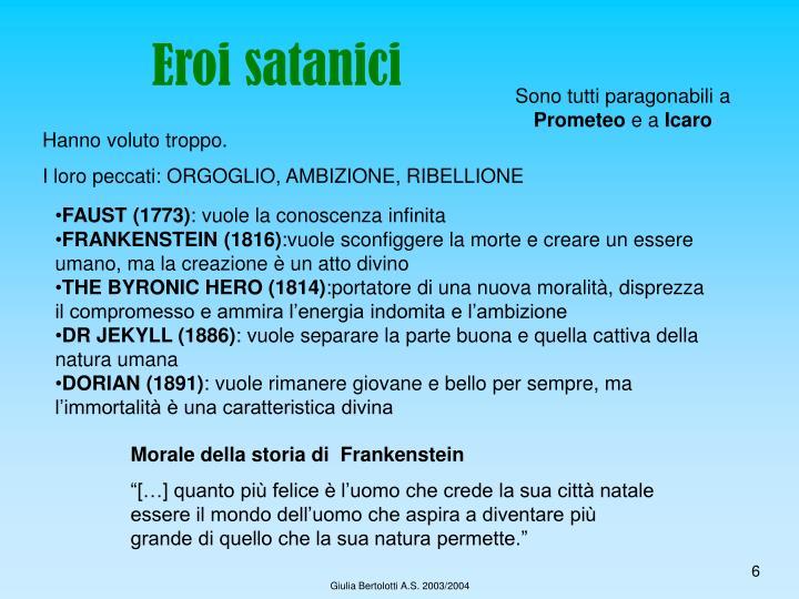 Eroi satanici