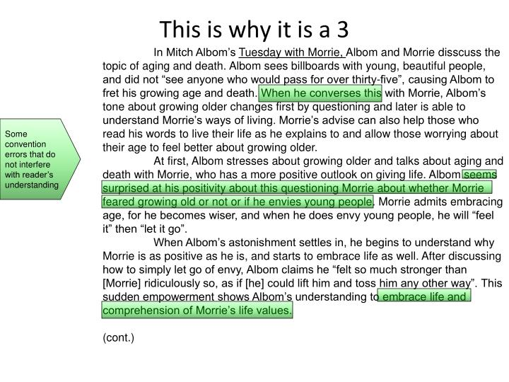 This is why it is a 3