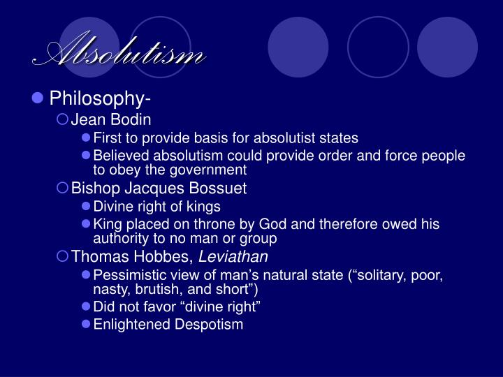 Absolutism1