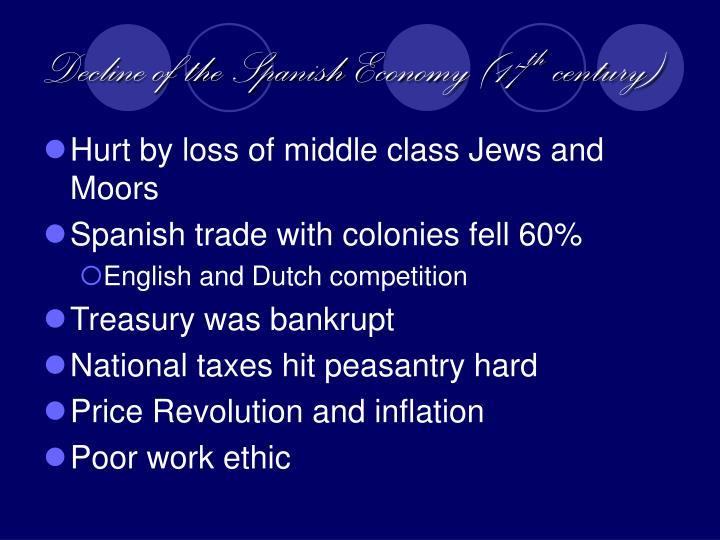 Decline of the Spanish Economy (17