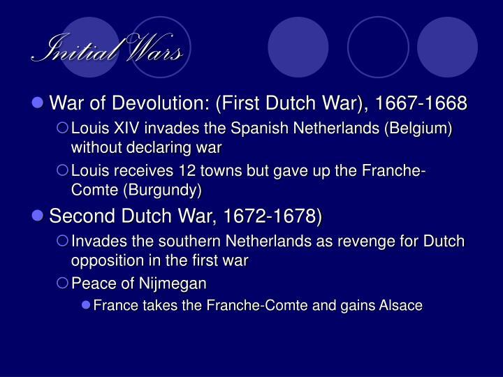 Initial Wars