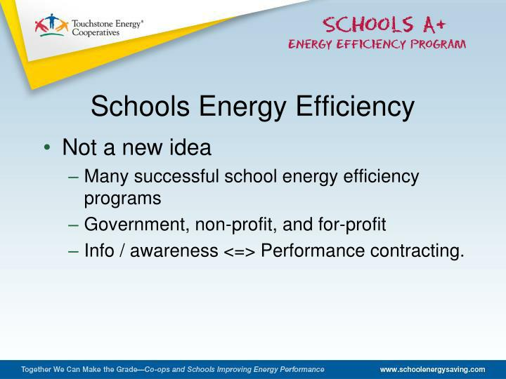 Schools Energy Efficiency