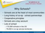 why schools
