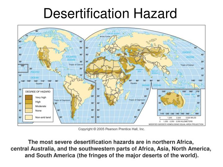 Desertification Hazard