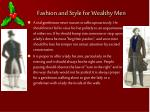 fashion and style for wealthy men