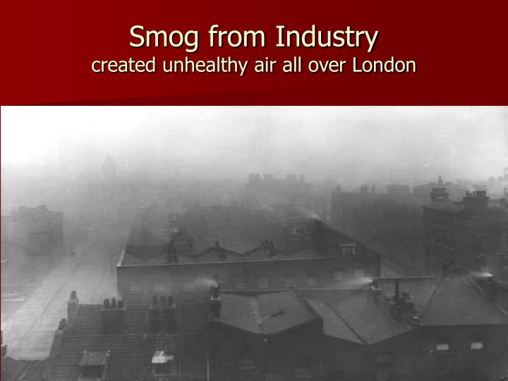 Smog from Industry