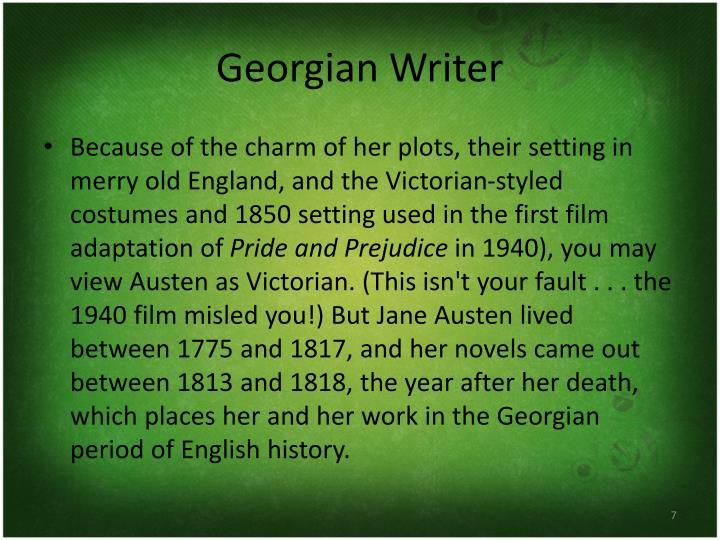 Georgian Writer