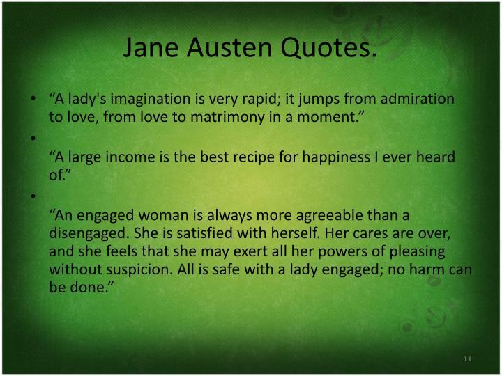 Jane Austen Quotes.