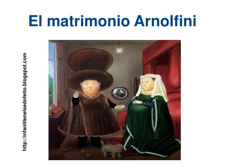 El matrimonio Arnolfini