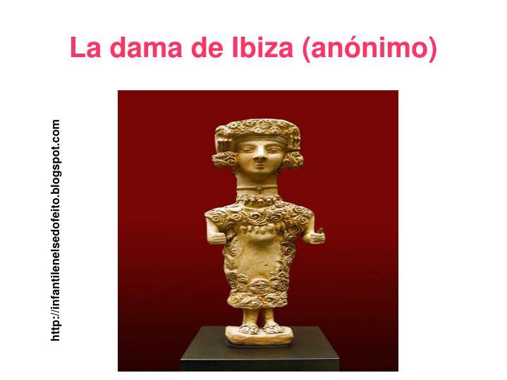 La dama de Ibiza (anónimo)