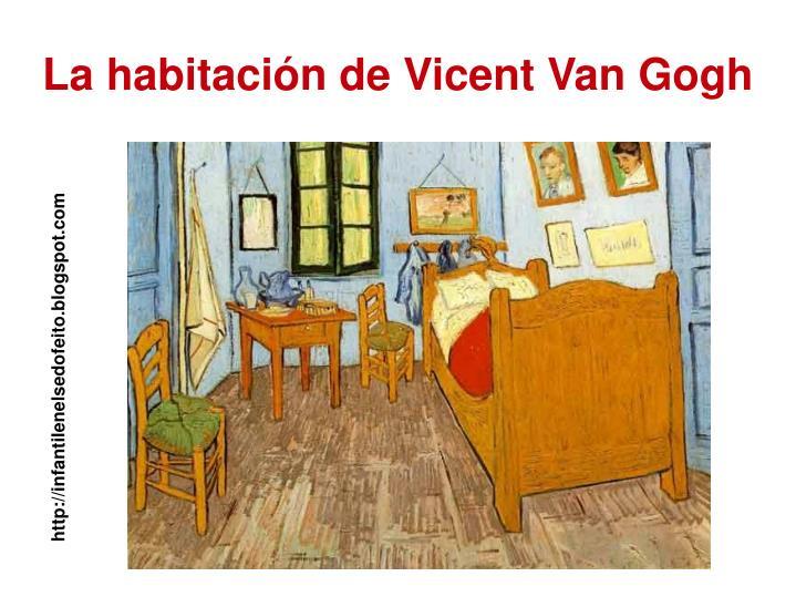 La habitación de Vicent Van Gogh