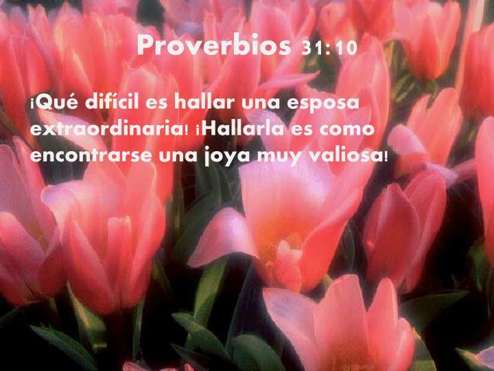 Proverbios 31:10
