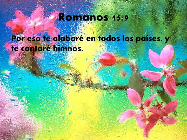 Romanos 15:9