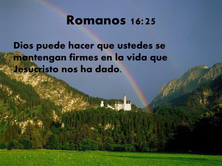 Romanos 16:25
