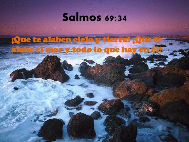 Salmos 69:34