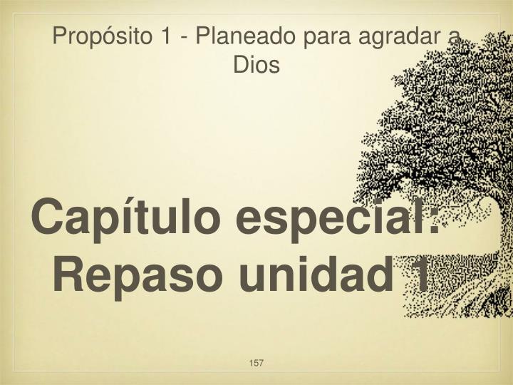 Propósito 1 - Planeado para agradar a Dios