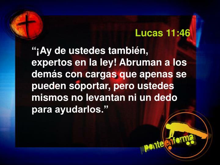Lucas 11:46