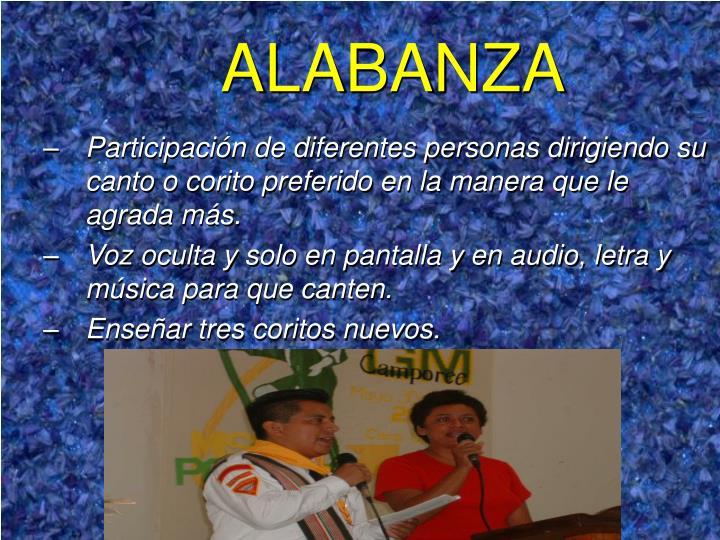 ALABANZA