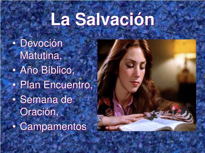 La Salvación
