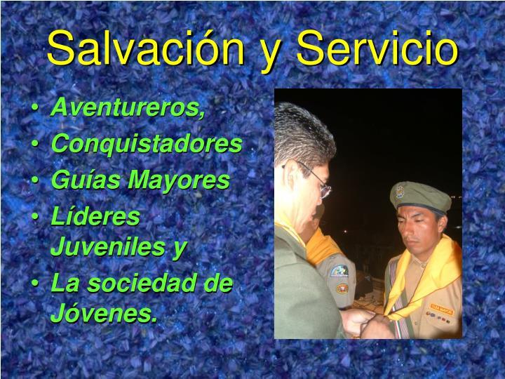 Salvación y Servicio