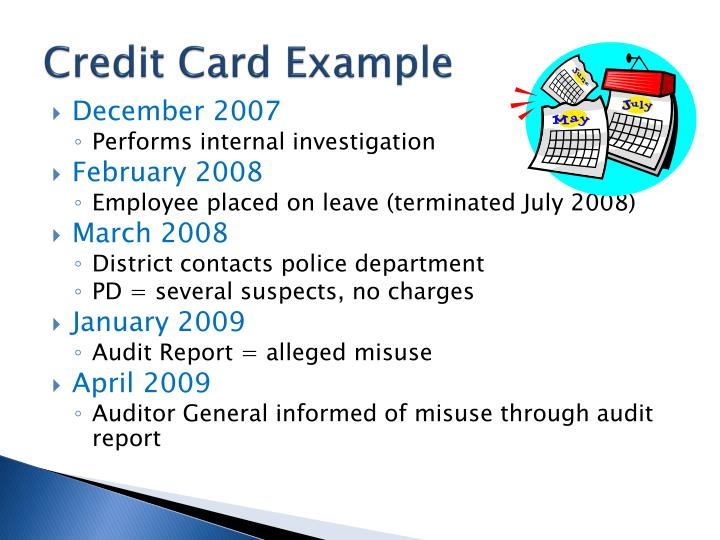 Credit Card Example