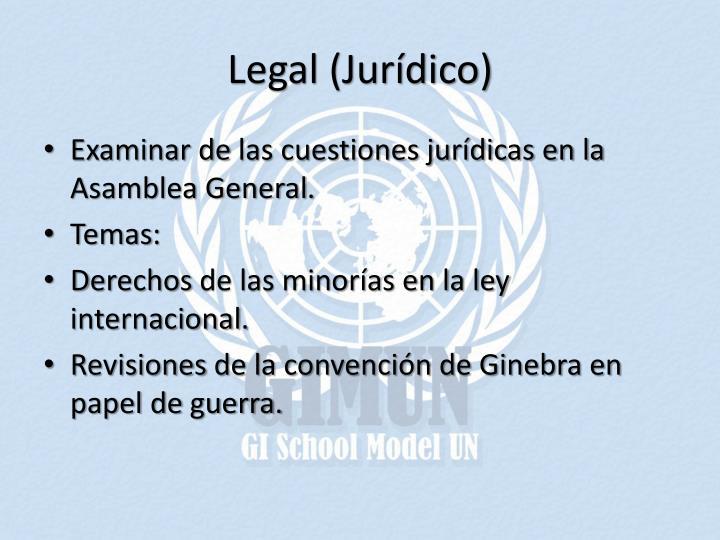 Legal (Jurídico)