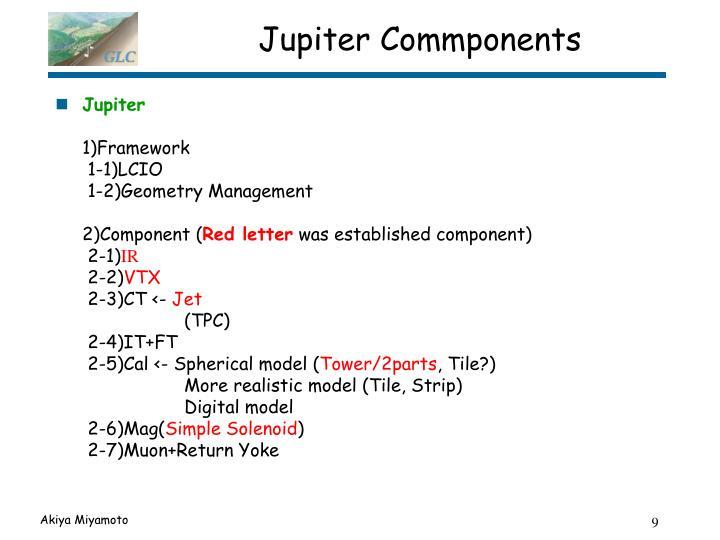 Jupiter Commponents