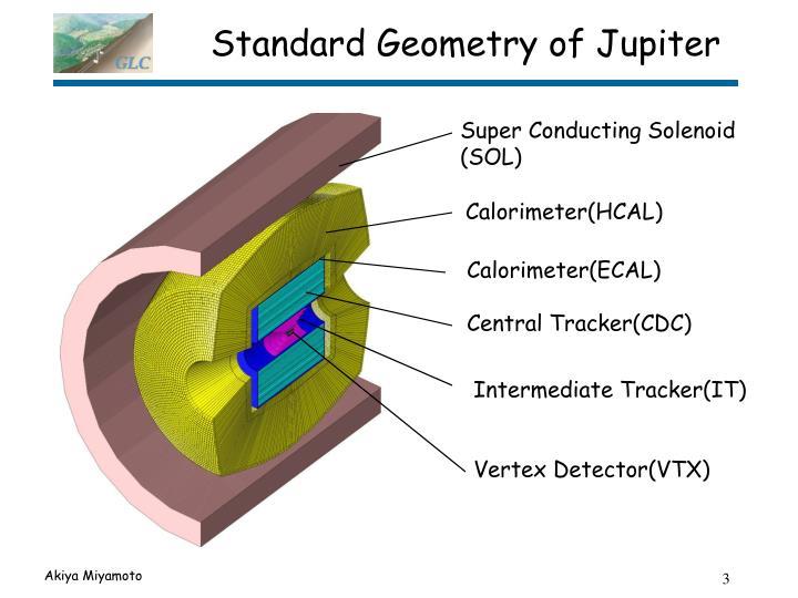 Standard Geometry of Jupiter