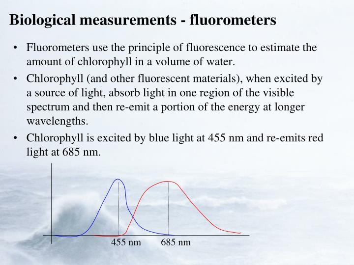 Biological measurements - fluorometers